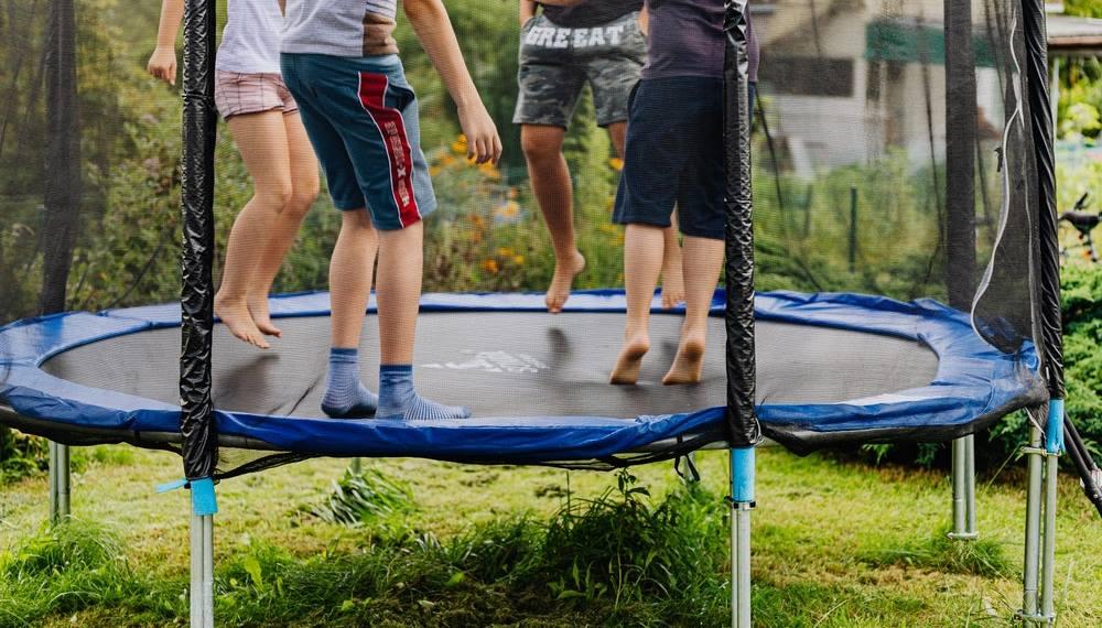 Le danger du trampoline