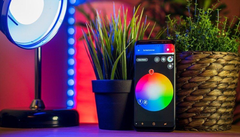 Smartphone pour domotique maison